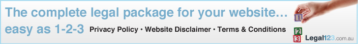 The complete legal package for your website - privacy policy - website-disclaimer - terms-and-conditions
